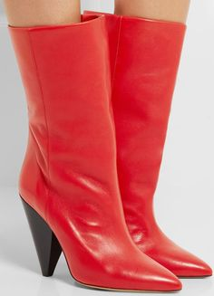 91ce3e17514 Isabel Marant Lexing leather knee boot Winter Fashion Boots
