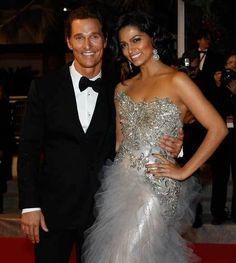 Celebrity Weddings: Alec Baldwin, Tom Cruise and More!: Matthew McConaughey & Camilla Alves
