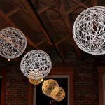 String Chandeliers, Hobart & Haven. 15 DIY Wedding Decoration