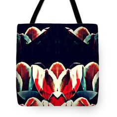 Tulip Panorama Tote Bag  http://fineartamerica.com/products/tulip-panorama-sarah-loft-tote-ba..  #totebags #sarahloft #digitalart #digital #abstract