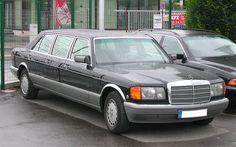 Mercedes-Benz W126 six-door stretch limousine