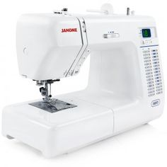 The Janome 8077 computerized sewing machine takes modern technical precision and experiments with letting it steady a sewing hand.
