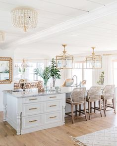Modern French Country, French Country Kitchens, French Country Living Room, French Country Farmhouse, French Country Decorating, Farmhouse Decor, Farmhouse Plans, Modern French Kitchen, Modern French Interiors