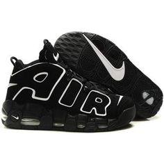 Nike Air More Uptempo Scottie Pippen Shoes Black Sport
