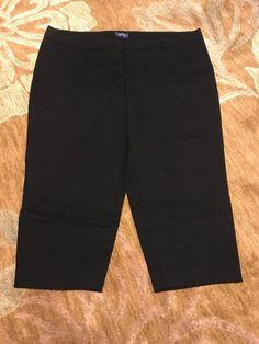 173e8b8a572bc Old Navy 24 Plus Short Black Harper Pants NWOT  fashion  clothing  shoes