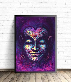 Buddha Poster Meditation Art Yoga Home Decor by artmonydesigns Buddha Drawing, Buddha Painting, Oil Painting Abstract, Texture Painting, Painting Prints, Art Prints, Meditation Art, Yoga Art, Zen