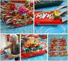 Traîneau de bonbons