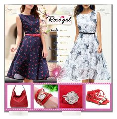 """""""Rosegal 41"""" by aida-ida ❤ liked on Polyvore featuring vintage"""