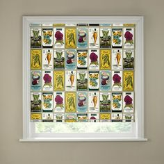 The Seed Packets Border Roller Blind from The Range is a multi-coloured design patterned with retro style seed packets and would be a stylish and practical addition to any traditional or vintage-inspired kitchen. Sizes available: 2ft, 3ft, 4ft, 5ft, 6ft Prices start from just £11.99