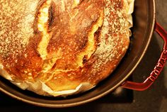 Perfektes Landbrot ohne Kneten nach Jim Laheys Rezept für No Knead Bread