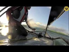 Tiwal, the high performance inflatable sailing dinghy, Quiberon 2012 - YouTube