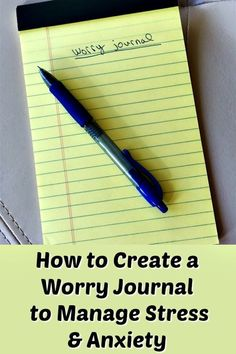 "One of the strategies I have been using to manage anxiety and stress is to write in a ""worry journal"" every evening. I've been doing this for over a year now, and it's helped a lot. Here's how to do it. #stress #anxiety #gratitude #journaling #holistichealth #mentalhealth #healthtips via @cleaneatingkitchen"