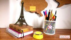 {VEDA 2016} DIY: Cestos decorados com lã