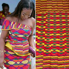 BACK IN STOCK, your favourite SILK thread kente is back in stock selling at ghc for 6 yards for women. Call us on We ship worldwide and take bulk orders. African Wedding Attire, African Attire, African Wear, African Women, African Dress, Latest African Fashion Dresses, African Print Fashion, Africa Fashion, Nyc Dresses