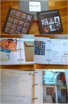 Easy baby book - 25 Clever DIY Ways To Organize With Binders Binder Organization, Organizing Ideas, Book Binder, Memory Books, Baby Crafts, Clever Diy, School Days, Photo Book, Planners