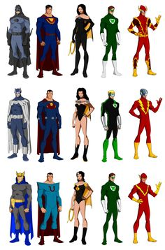 Crime Syndicate of Amerika by Majinlordx.deviantart.com on @DeviantArt