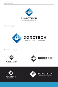 Borctech B Letter Logo: multifunctional logo that can be used in technological companies, in companies and applications for software development, construction Layout Template, Logo Templates, Data Logo, B Letter Logo, Fashion Identity, Poster Design Inspiration, Corporate Design, Software Development, Layout Design