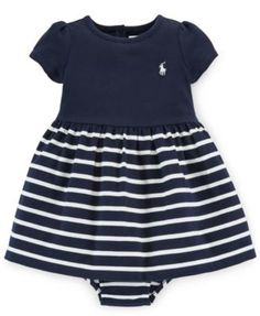 Ralph Lauren Baby Girls' Jersey Dress