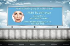 Correct it's totally FREE. Understand completely what is happening with your skin. Text FREE3d or Call 0207 838 0765 #skincare #beauty #skin