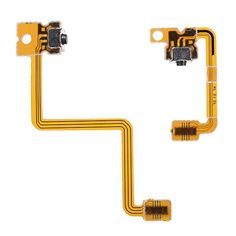 Description :  Left Right Shoulder Button with Flex Cable For Nintendo 3DS L/R Switch Tested and 100% working before delivery. Special skill and techniques required for proper installation. Top quality replacement part to fix wear and tear or water liquid damage . Replacement of your damaged...