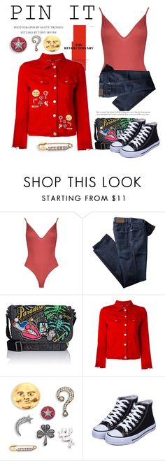 """""""Pin It"""" by conch-lady ❤ liked on Polyvore featuring Boohoo, Marc Jacobs, 7 For All Mankind and pinit"""