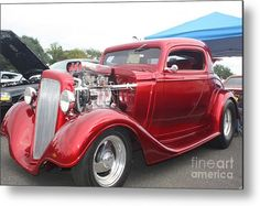 Fabulous photo by John Telfer #photography   #cars   #chevy   #oldtimer   #red