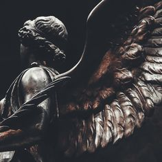 The Pushkin State Museum of Fine Arts Ph: Consequence_s Photography. #sculpture #angel #wings #marble #statue #museum