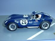 George Turner Models (GTM) CRO SAL SPECIAL NOS 25/26 Cheetah Coupe resin slot car kit 1/32 scale. model