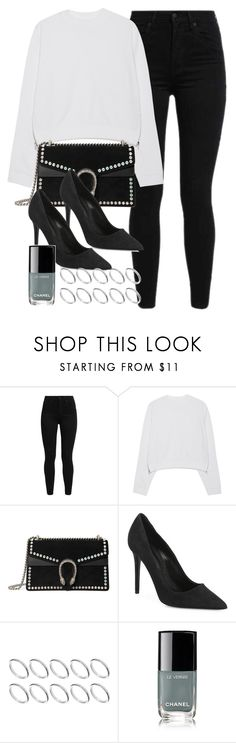 """#13920"" by vany-alvarado ❤ liked on Polyvore featuring Levi's, Acne Studios, Gucci, Alexander Wang, ASOS and Chanel"