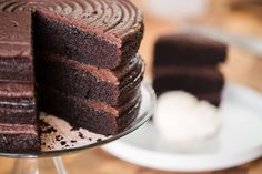 If you're a serious chocolate lover that adores a classic chocolate cake this is for you. Soft, decadent, and rich, this is the ultimate chocolate cake. Simple Cake for you Ultimate Chocolate Cake, Amazing Chocolate Cake Recipe, Decadent Chocolate Cake, Chocolate Recipes, Chocolate Cakes, Flourless Chocolate, Cake Recipes, Dessert Recipes, Dessert Ideas