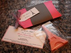 Love this invitation from From Glitter to Gumdrops