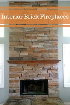 The fireplace is the perfect solution for your home during the cold days. We will offer you cost-saving alternatives for building your interior brick fireplace because everybody deserves their dream home. #mortonstones #brickwall #rustic #modernhome #decor #interiordesign #interior #homeideas #fireplace
