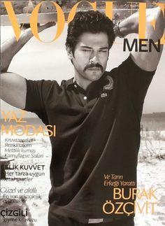 Burak Özçivit - Vogue Mens Magazine Cover [Turkey] (June 2013)