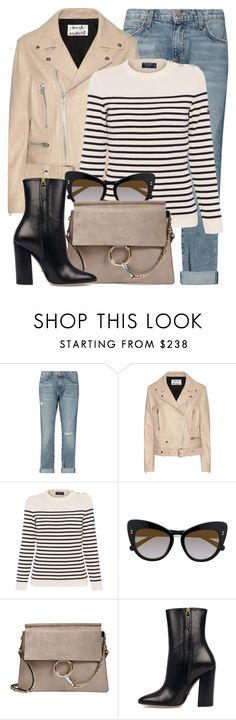 """First Choice"" by monmondefou ❤ liked on Polyvore featuring Current/Elliott, Acne Studios, Saint James, STELLA McCARTNEY, Chloé, Gucci and beige"