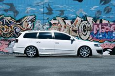 Lowered Passat Wagon | ... Passat R36, 3.6 V6 DSG • View topic - White R36 wagon lowered on KW
