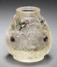 A Mughal gem-set rock crystal Jar Northern India, late 18th Century