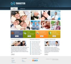 Targetter - Like this design? Have it customized with your logo and content! - JoomlaNinja.in