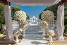 Statement entrance at your wedding ceremony. Wedding by Monte-Carlo Weddings