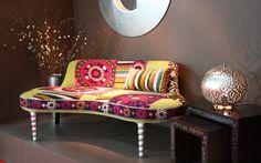 Kidney Shape sofa by J.Wardani