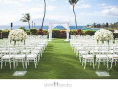 Four Seasons Wailea Maui wedding venue Dmitri and Sandra Photography