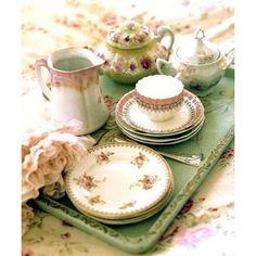 Tea Parties / Tumblr ❤ liked on Polyvore