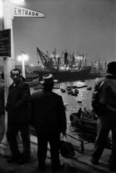 Sergio Larrain - Valparaiso. Harbour. 1963.