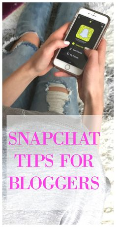 SNAPCHAT TIPS FOR BLOGGERS http://lifebylee.com/snapchat-tips-bloggers/