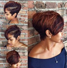 The pixie cut is the new trendy haircut! Put on the front of the stage thanks to Pixie Geldof (hence the name of this cup!), Many are now women who wear this short haircut. Curly Pixie Haircuts, Pixie Hairstyles, Short Hairstyles For Women, Black Hairstyles, Braided Hairstyles, Hairstyles 2016, Casual Hairstyles, Medium Hairstyles, Latest Hairstyles