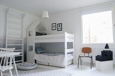 Viime viikonloppuna saimme vihdoin isomman pojan huoneen valmiiksi. Projektin vieminen loppuun on kestänyt ... Ikea Hacks, Kids Rooms, Kids And Parenting, Bunk Beds, Sweet Home, House, Furniture, Ideas, Home Decor