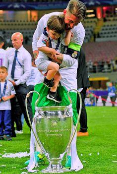 Sergio with Junior