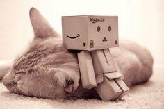 cute amazon box robot | Amazon Box (robot life ...