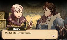 erm henry give me my face back NOW Fire Emblem Awakening