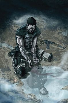 Marco Checchetto's PUNISHER covers are incredible