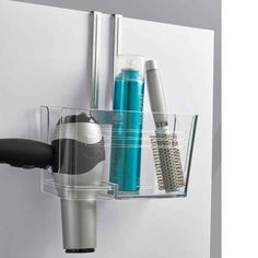 Here's another undersink option that will actually keep your styling tools decently organized.